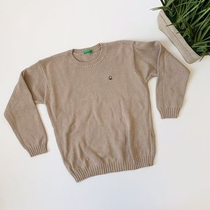 United Colors of Benetton Beige Sweater Boys 5-6